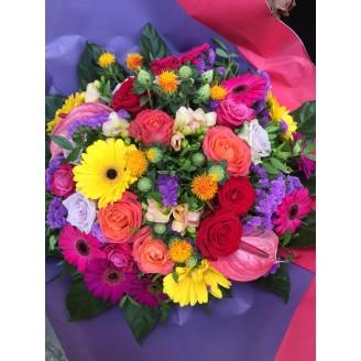 Bouquets Arcs-en-ciel
